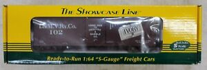 S-Helper Service S Gauge, IVORY SOAP Box Car, #102, #01569 Showcase Line AF (F4)
