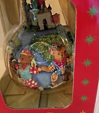 Christopher Radko Teddies Around the World Christmas Ornament Holiday Gift