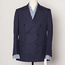 Kingsman x Mr Porter Navy Blue DB Sport Coat EU52 US42 NWT