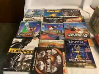 Lot of 13 Various Video Game Strategy Guides Mad World Tony Hawk's Dragon Etc.