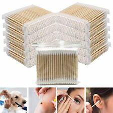 100-1000 Pcs Bamboo Cotton Swab Makeup Cleaning Cotton Buds ECO Biodegradable