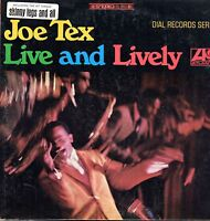 Joe Tex Vinyl LP Atlantic Records 1968, SD-8156, Live and Lively ~ VG+