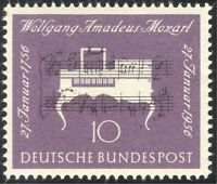 Germany 1956 Mozart/Composers/Piano/Music/Musical Score/People 1v (n43465)