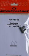 Quickboost 1/72 Hawker Seahawk Exhaust Nozzles # 72366