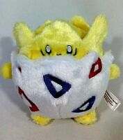 """Pokemon Center TOGEPI 6"""" Soft Fluffy Plush Doll Toy 2012 AUTHENTIC Hard To Find"""