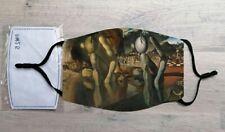 Metamorphosis of Narcissus face mask (Salvador Dali)