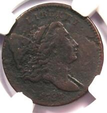 1794 Liberty Cap Flowing Hair Half Cent 1/2C - NGC VF Detail - Rare Coin!