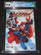 Action Comics #39 (2015) Harley Quinn Variant Cover CGC 9.8 DC Superman EH312