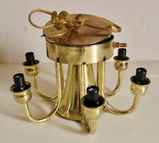 Vintage 5 Arm Candelabra Ceiling Light Bulb Socket Cluster Part Chandelier Lamp