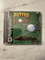 Putter Golf New Factory Sealed Sony PlayStation PSX PS1 No Defects Free Shipping