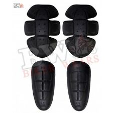 PROTECTORS FOR MOTORBIKE MOTORCYCLE JEAN FOR HIP AND KNEES SET OF 4