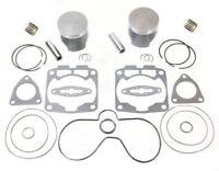 Polaris 700 RMK Top End Rebuild Kit Pistons Bearings Gaskets 2002 2003 2004 2005
