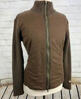 KUHL SWEATER JACKET - FULL ZIP MERINO WOOL / Sweater Knit Mix  Womens M