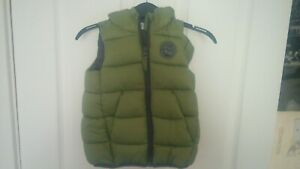 BNWT LOVELY BABIES PEP&CO KHAKI COLOURED GILLET SUPERB QUALITY