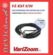 Varizoom VZ Ext 8/20 Cavo estensione per Controller 8 pin Per Vz ProC e Vz ProF