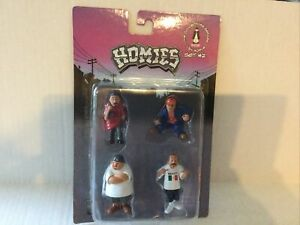 Homies Set #2 - The Collectors Series 1/24 Scale Set #2 New Sealed In Package