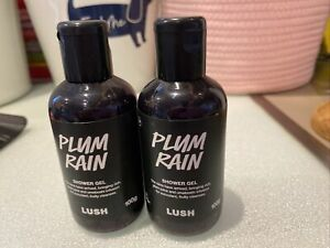 Lush Plum Rain- 2 @ 100mls New Never Used