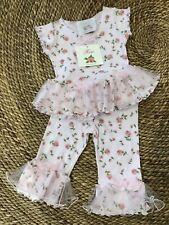 9-12 month, NWT, Roses & Tulle, Pink, Children's Clothing Girls Set