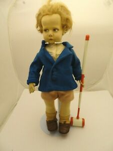 300 Series Lenci Boy with Polo Stick, All Original, V Good Condition