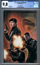 G.I. Joe: Operation Hiss #3 Virgin Variant Dennis Quaid, Channing Tatum  CGC 9.8