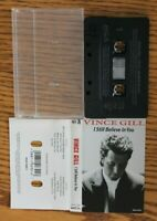 Vince Gill - I Still Believe In You Cassette Free Shipping In Canada