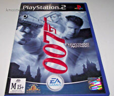 James Bond 007 Everything or Nothing PS2 PAL  *Complete*