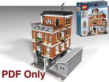 Lego Custom Modular Citiclub 10224 Alternate - Instructions PDF Only