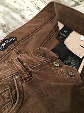 Tom Ford velvet corduroy pants 29 slim fit brand new