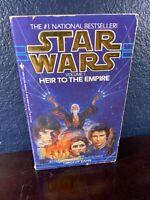 Timothy Zahn STAR WARS HEIR TO EMPIRE Thrawn Trilogy Book Novel 1st Paperback pb