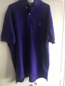 mens ralph lauren polo shirt xxl