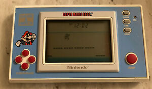 Nintendo Game and Watch Super Mario Bros Vintage 1988 LCD Game - YM 05