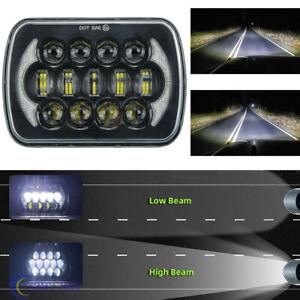 120W Osram 7x6'' 5x7'' LED Headlight Hi-Lo Beam Halo DRL For Jeep Cherokee XJ YJ