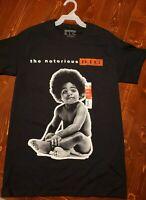The Notorious BIG Men's hip hop Tee shirt mens S T-shirt Rap BIGGIE smalls New