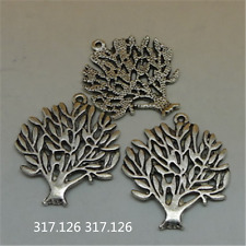 20X Tibetan Silver Tree Charm Pendant Beads Jewellery Findings 16mm*20mm  GU873