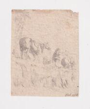 Stefano Della Bella, Cavallo e contadino, XVII secolo
