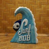 Tiki Mug Surf Bob Munktiki Imports Blue Fish Ocean Wave Surf Mikel Parton NEW