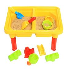 FunkyBuys® Kids Perfect 2 in 1 Sand & Water Table Sandpit for Children Beach Fun