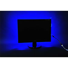 2x40+2x50cm 5050 RGB LED Indoor Mood Lighting Light Strip Kit Remote Control