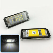 OEM Replacement Xenon White LED License Plate Light Assemblies For BMW E46 98-03