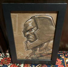 Eddie Nunez Original Art Darkseid Superman Dc Comics