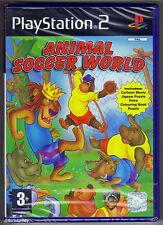 PS2 Animal Soccer World (2006) UK Pal, Brand New & Sony Factory Sealed