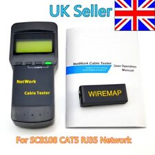 Network Cable Location Tester Meter LAN For SC8108 CAT5 RJ35 Network UK Shipping