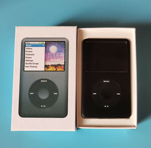 New, Black Apple iPod Classic 6th Generation 80GB Thin -Sealed(90days Warray)