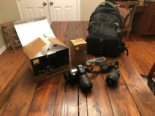 Nikon D90 DSLR Camera Kit w/ VR 18-105 mm Lens - Extra Nikkor Lens and Backpack