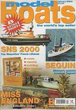 MODEL BOATS MAGAZINE JANUARY 2003