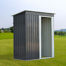 Metal Storage Shed Outdoor Storage for Backyard Tools and Accessories Cabitnet