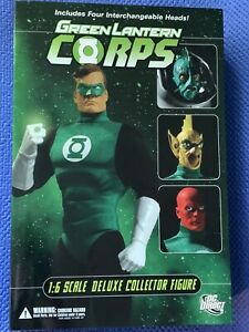 """DC Direct Green Lantern Corps Action Figure 13"""" 1:6 scale box set w/ accessories"""