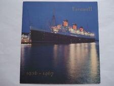 Brochures & Catalogues Cunard Ship Collectables