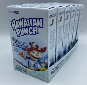6 Coconut Pineapple Sugar Free Hawaiian Punch SINGLES TO GO White Water Wave