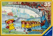 Ravensburger Madeline Picnic by the Seine 35 Pc Jigsaw Puzzle 1991  4+  Complete